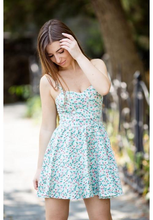 """Платье """"Сонни"""", цветочный принт"""