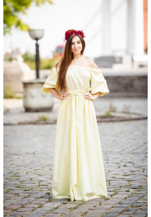 """Платье """"Натали"""", желтое"""