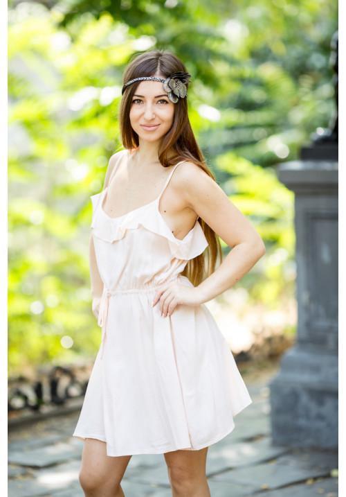 """Платье """"Чакки"""", розовая пудра"""